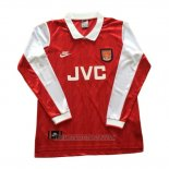 Camiseta del Arsenal Primera Manga Larga Retro 1994-1996