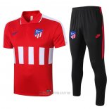 Conjunto Polo Atletico Madrid 2020-2021 Rojo