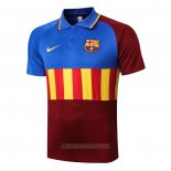 Camiseta Polo del Barcelona 2020-2021 Azul y Marron