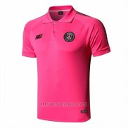Camiseta Polo del Paris Saint-Germain 2019-2020 Rosa