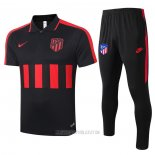 Conjunto Polo Atletico Madrid 2020-2021 Negro