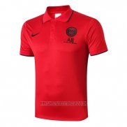 Camiseta Polo del Paris Saint-Germain 2019-2020 Rojo