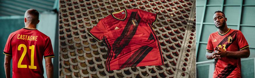 camiseta Belgica Euro 2020