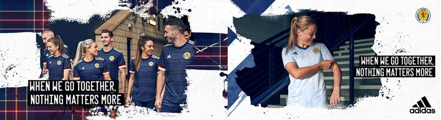 camiseta Escocia Euro 2020