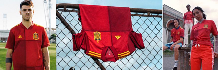 camiseta Espana Euro 2020