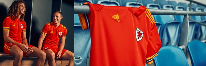 camiseta Gales Euro 2020