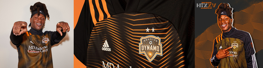 camiseta Houston Dynamo 2020