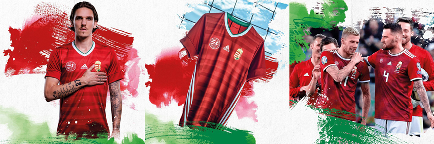 camiseta Hungria Euro 2020