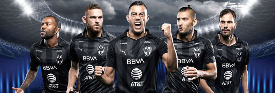 camiseta Monterrey 2020