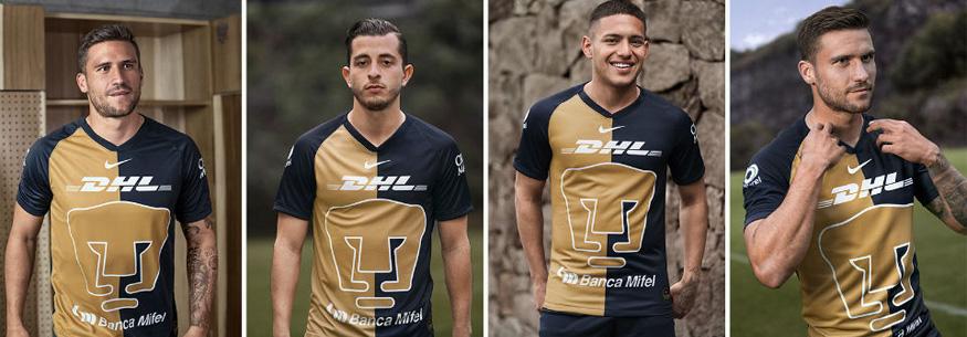 camiseta Pumas UNAM 2020