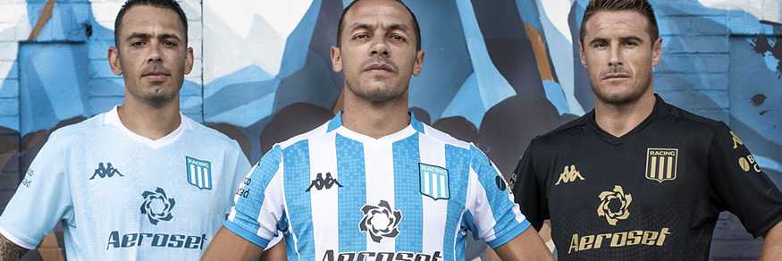 camiseta Racing Club 2020