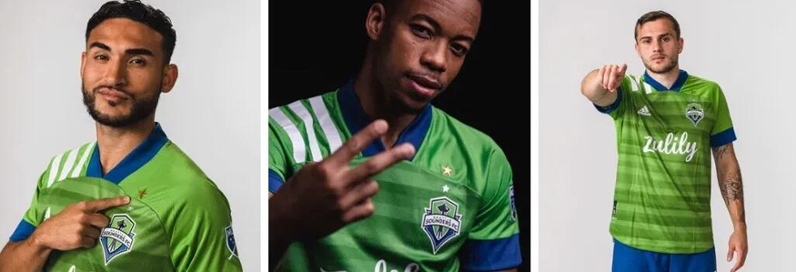 camiseta Seattle Sounders 2020