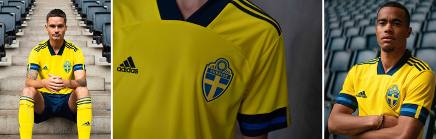 camiseta Suecia Euro 2020