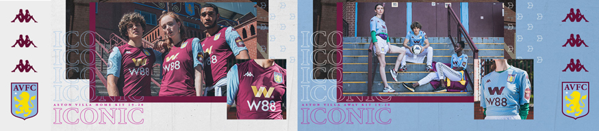 camiseta Aston Villa replica 19-20