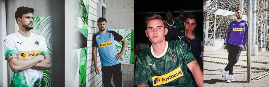 camiseta Borussia Monchengladbach replica 19-20