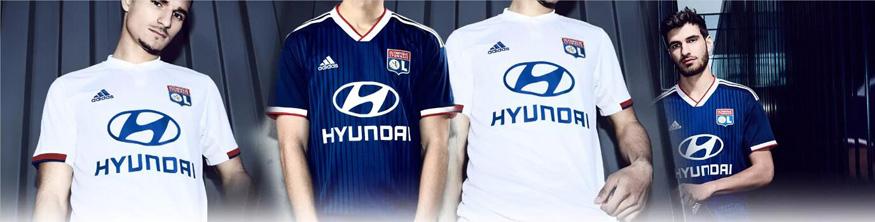 camiseta Lyon replica 19-20