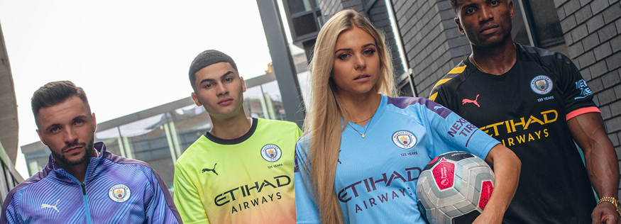 camiseta Manchester City replica 19-20