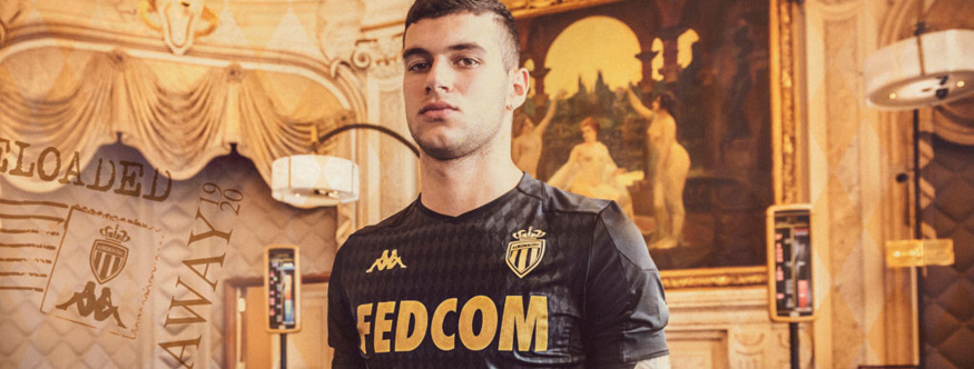camiseta Monaco replica 19-20