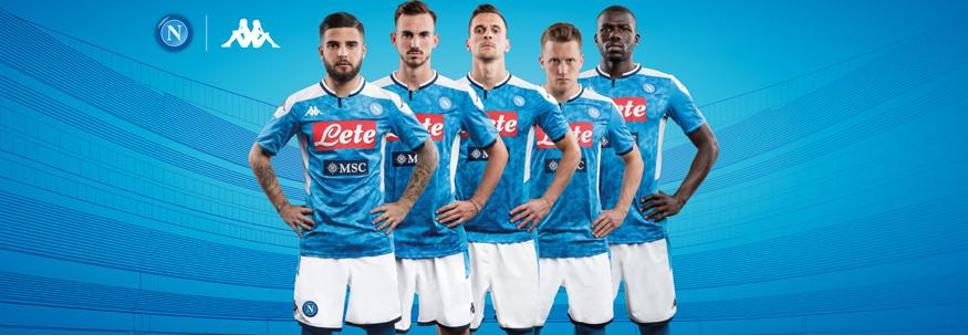 camiseta Napoli replica 19-20
