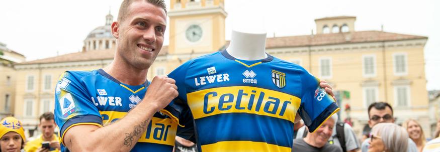 camiseta Parma replica 19-20