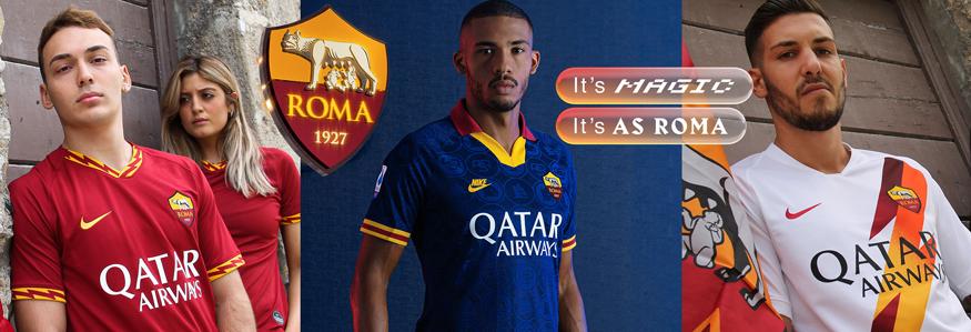camiseta Roma replica 19-20