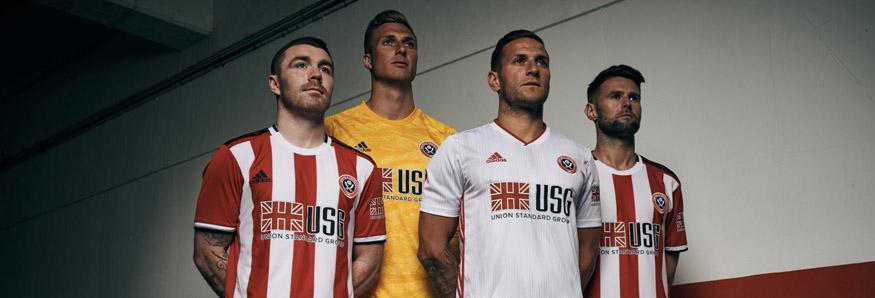 camiseta Sheffield United replica 19-20