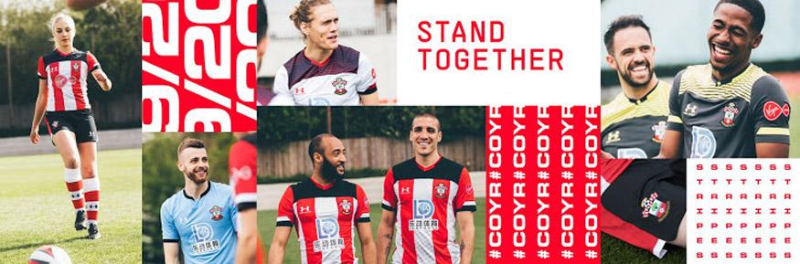 camiseta Southampton replica 19-20