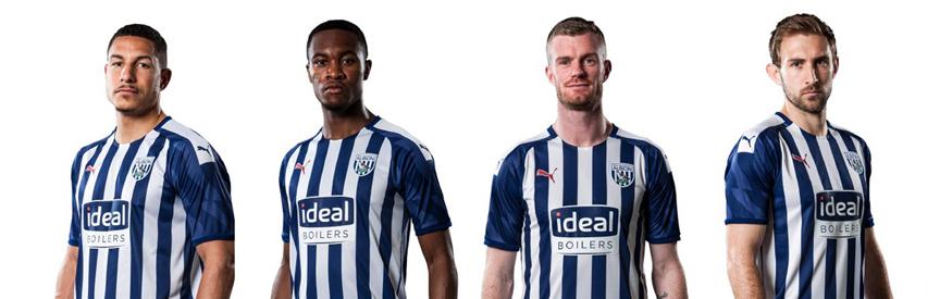 camiseta West Bromwich Albion replica 19-20