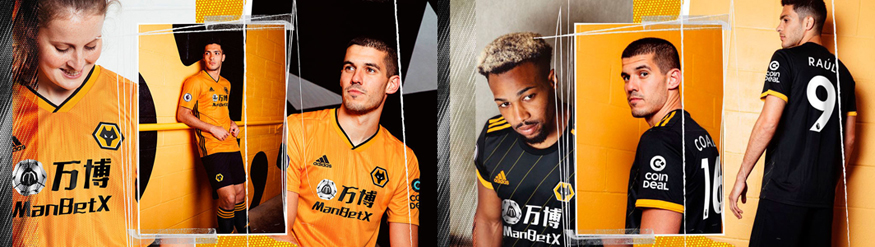 camiseta Wolves replica 19-20